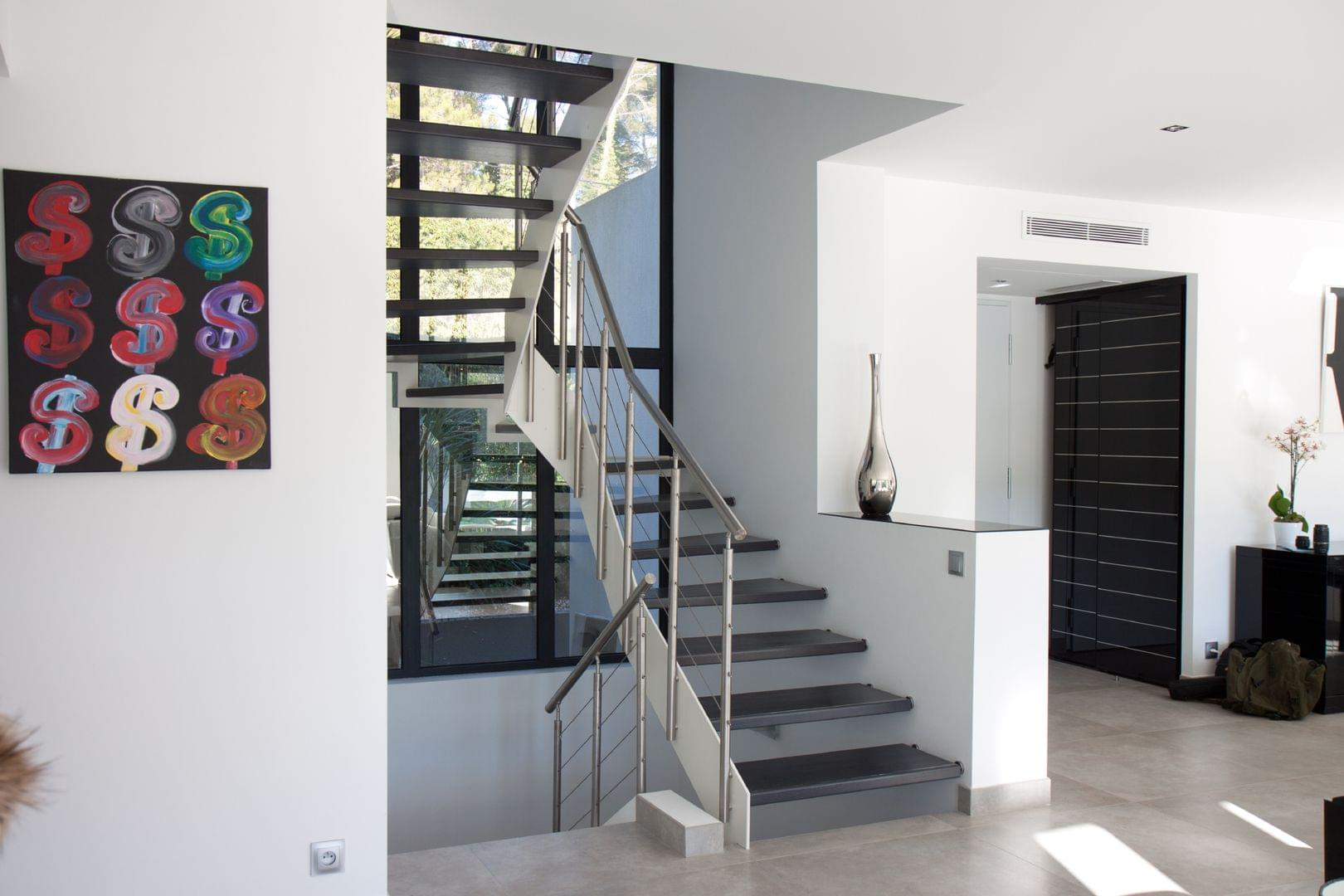 stahltreppen stahlwangentreppen und holz stahltreppen von treppenmeister. Black Bedroom Furniture Sets. Home Design Ideas